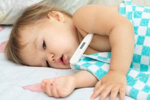 Bebeklerde Yüksek Ateş Kaç Derecedir?